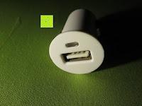 Ladegerät vorne: Aiho 50ml USB Auto Aroma Diffuser Mini AD-P3 Aromatherapie Ätherische Öl Ultraschall Luftbefeuchter Humidifier