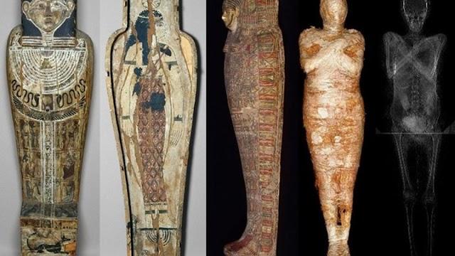 Αρχαιολόγοι ανακάλυψαν την πρώτη έγκυο αιγυπτιακή μούμια