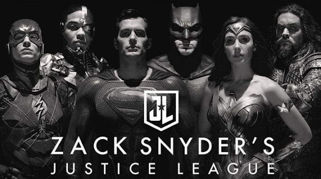 Zack Snyder's Justice League Heroes Poster