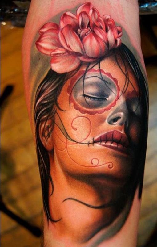 Tatuajes De Catrinas Y Calaveras
