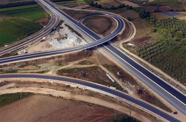 Άρτα: Δείτε τις εργασίες στα 25 χλμ της Iόνιας, Αμφιλοχία-Σελλάδες Άρτας (video)