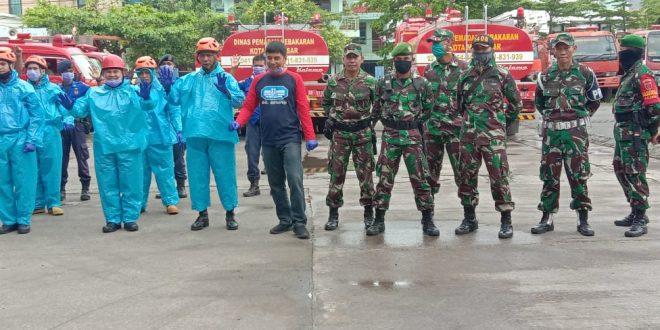 Kodim 1408/Bs Bersama Pemkot  Makassar Bersinergi Atasi Penyebaran Covid -19