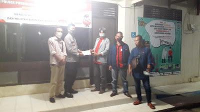 AWPI Lamtim Resmi Laporkan Tindakan Pelecehan Profesi Wartawan