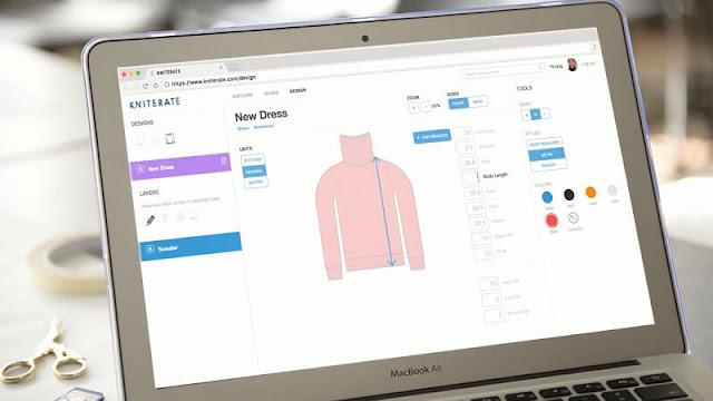 Kniterate, printer 3d masa depan yang bisa membuat pakaian