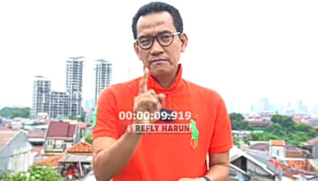 Refly Ungkap Penanggung Jawab Kisruh Lahan Pesantren Ha6ib Ri2ieq