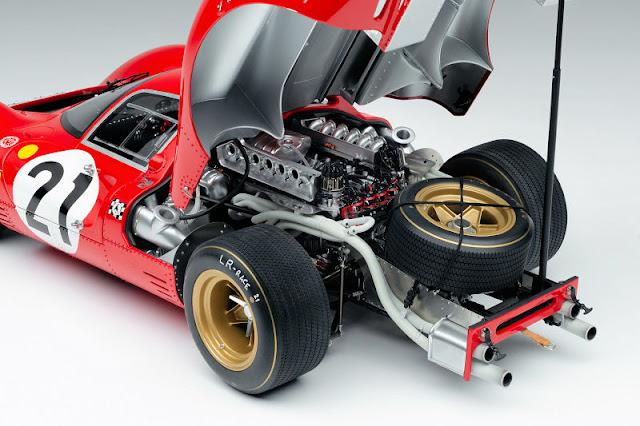 The stunning Ferrari 330 P4
