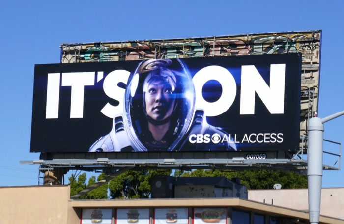 Star Trek Discovery CBS All Access Its On billboard
