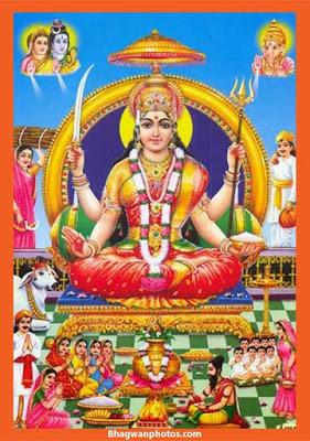 Sri Santoshi Mata Wallpaper