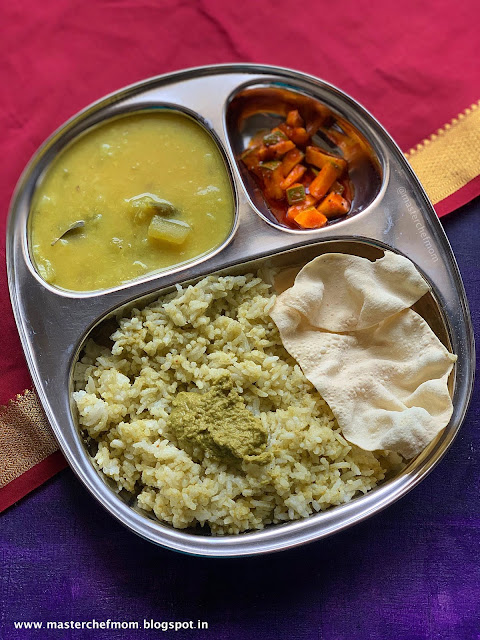 Indian Thali Ideas By Masterchefmom #010