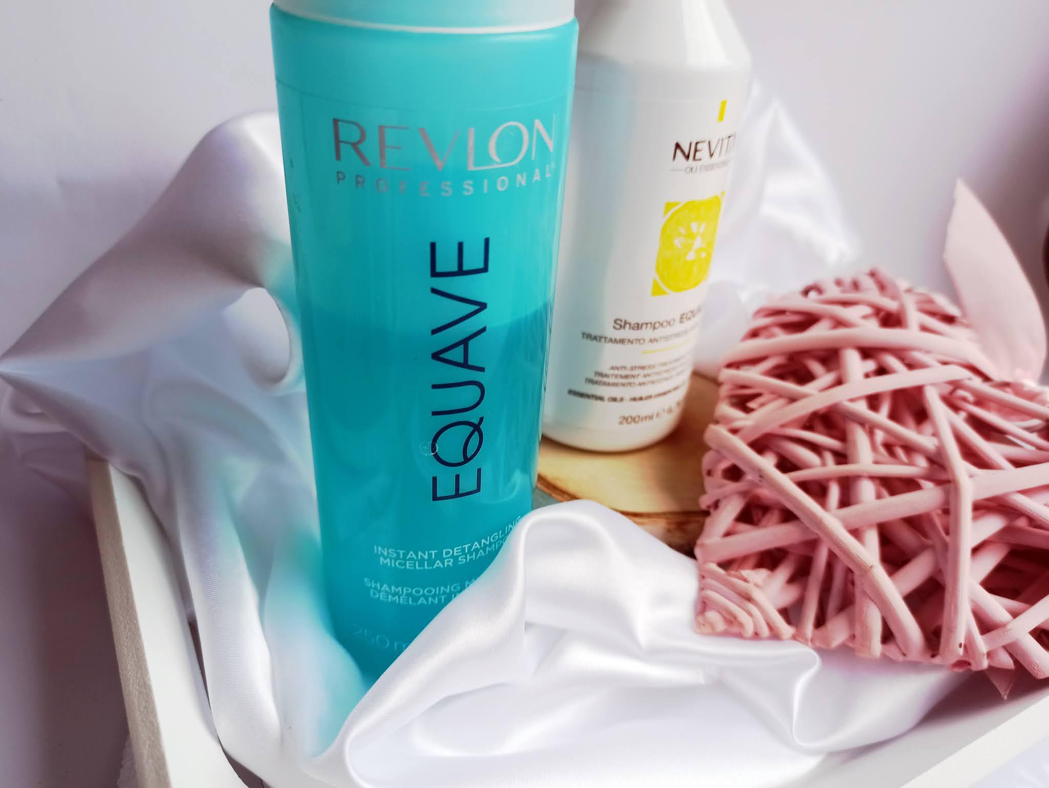 Revlon Equave Keratin Hydro Detangling Shampoo szampon nawilżająco-odżywczy z keratyną
