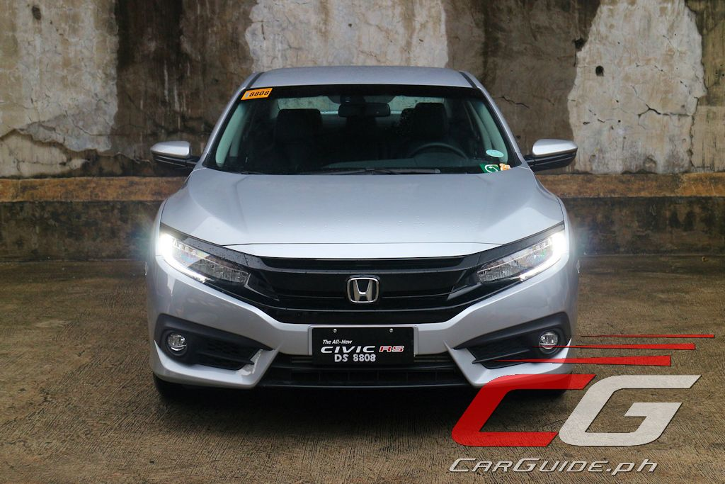Review: 2016 Honda Civic RS Turbo  CarGuide.PH  Philippine Car News