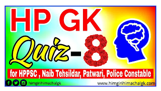 Himachal GK Quiz for HAS