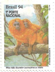 Selo Mico-leão-dourado