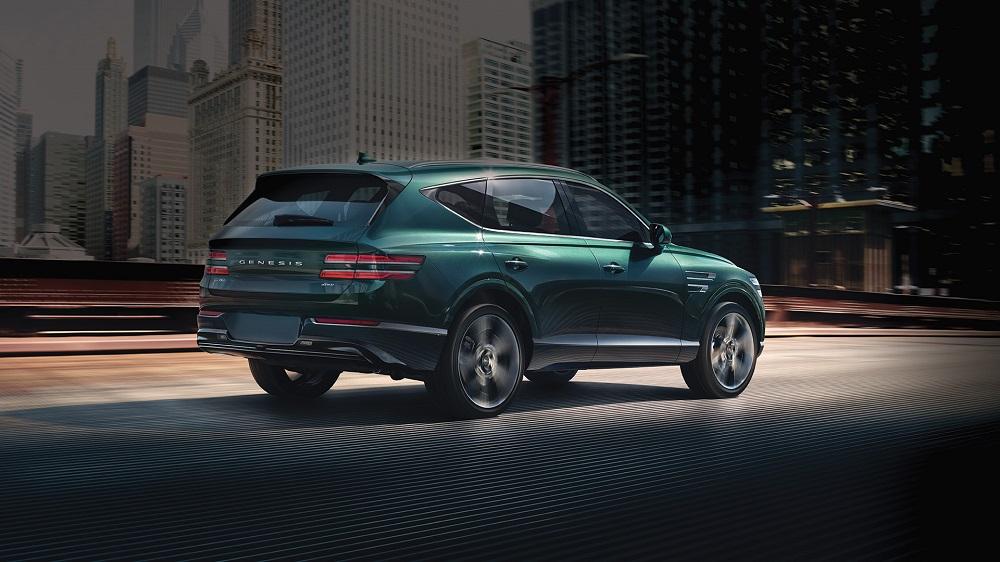 """Genesis GV80 2021 - """"Tân binh"""" SUV hạng sang"""