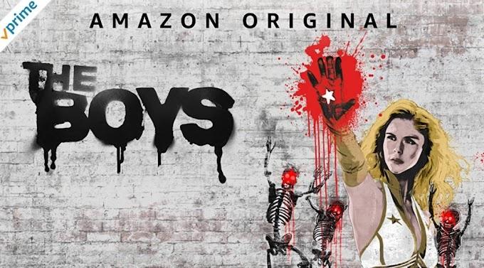 'The Boys' por Amazon Prime. Never meet your heroes