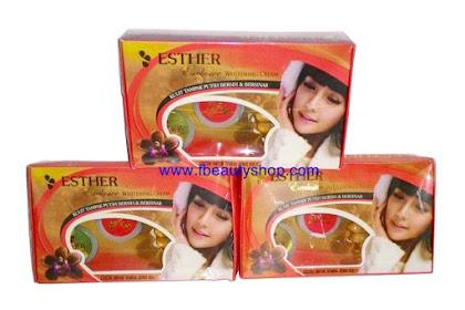 Jual Cream Esther Exclusive Pemutih Wajah