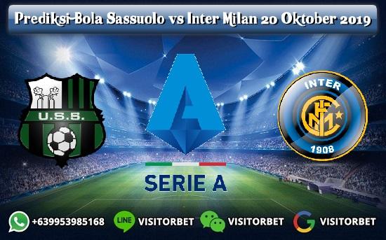Prediksi Skor Sassuolo vs Inter Milan 20 Oktober 2019