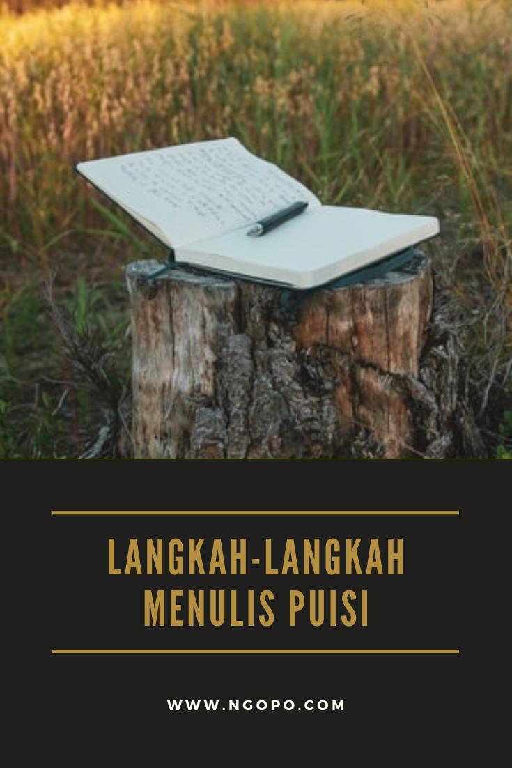 LANGKAH-LANGKAH MENULIS PUISI
