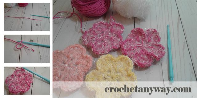 crochet scrubby steps
