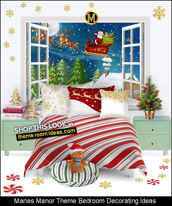 christmas themed bedroom decorating ideas christmas bedroom decor christmas decorating candy cane