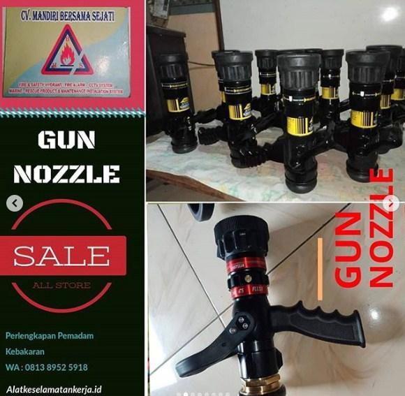 Gun Nozzle Hydrant System