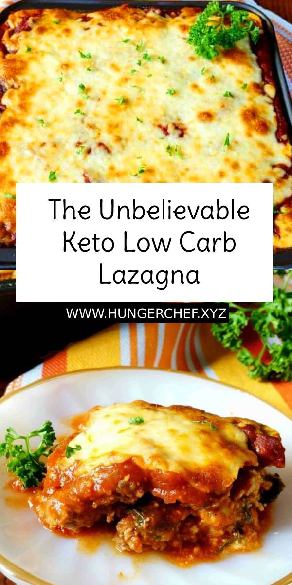 The Unbelievable Keto Low Carb Lazagna - A keto lasagna for meat lovers! Rather than try to sneak in a vegetable for the pasta layer, meatza slices are used in this low carb casserole. #keto #lowcarb #lasagna #ketolasagna #lasagnarecipe #italianrecipe #italianfood #bestlasagna #bestlasagnarecipe #easylasagnarecipe #recipeoftheday #ketodinner #lowcarbdinner #ketodiet #ketogenic #healthylasagna #meatza