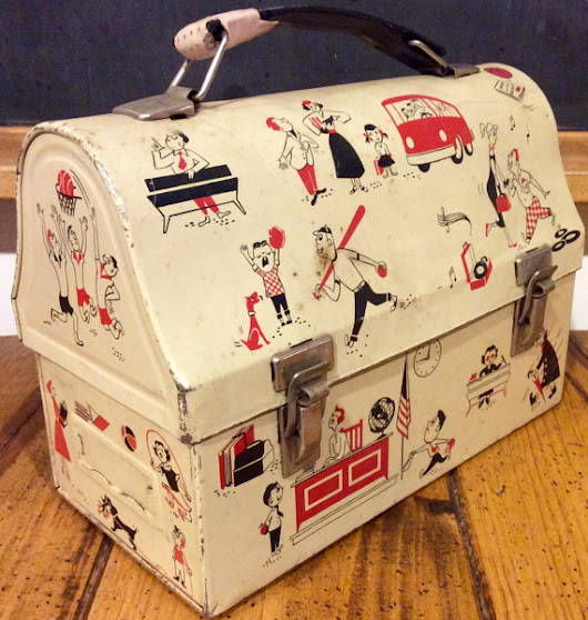 As Seen On Etsy - Vintage Retro Lunch Boxes