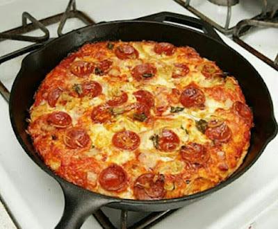 Pizza Kuali Simple
