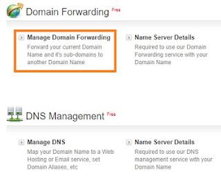 Domain Forwarding - Bigrock