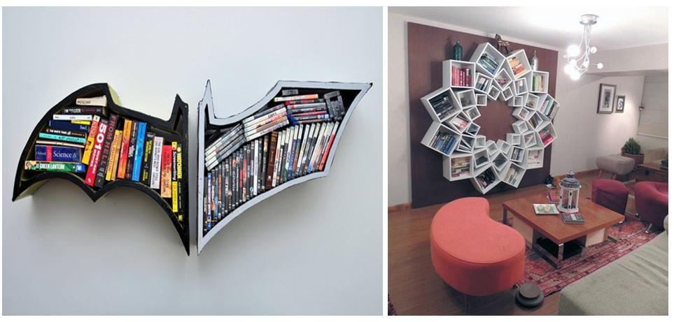 Ideias criativas de prateleiras para livros Leitora Encantada ...
