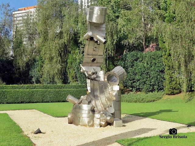 Close-up da Escultura Sem Título (1976) - MAB-FAAP - Higienópolis - São Paulo