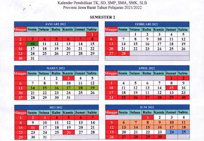 Download Kalender Pendidikan 2021-2022 Jawa Barat pdf