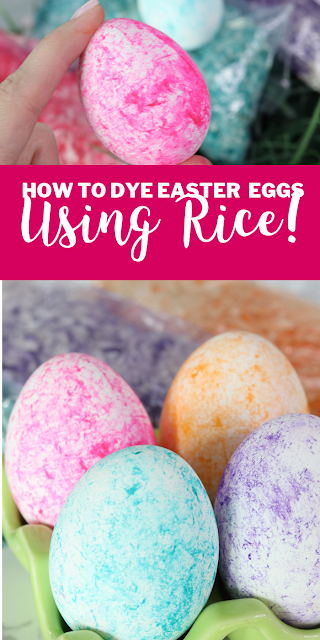 How to Dye Easter Eggs Using Rice