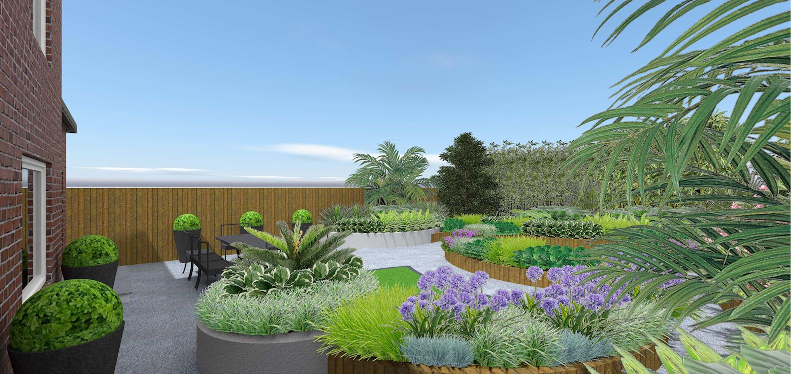A life designing small garden design ascot berkshire for Garden design visualiser