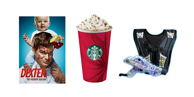 Dexter, Netflix, Starbucks Caramel Brulee Latte, Laser Tag, College Blogger, Lifestyle Blogger