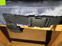 fest geschnallt: PREMIUM Memory-Schaum Posture orthopädische Sitzkissen , für Rückenschmerzen , Steißbein, Ischias, FREE Carry Bag & FREE Sitzkissenbezug von SunrisePro - 100% Unconditional