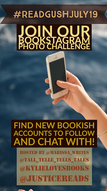 Read Gush July - Emoji Challenge for Bookstagrammers