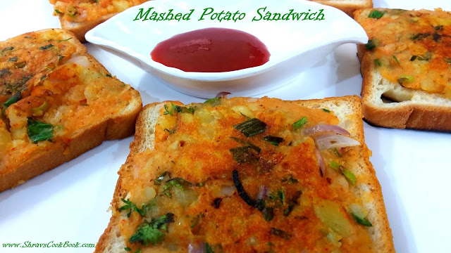 mashed potato sandwich - open faced sandwich recipe