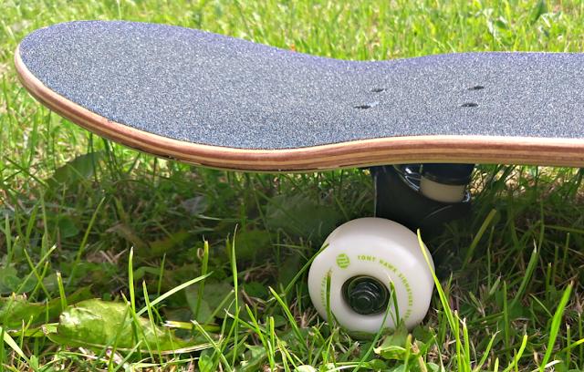 End of the Tony Hawk Skateboard