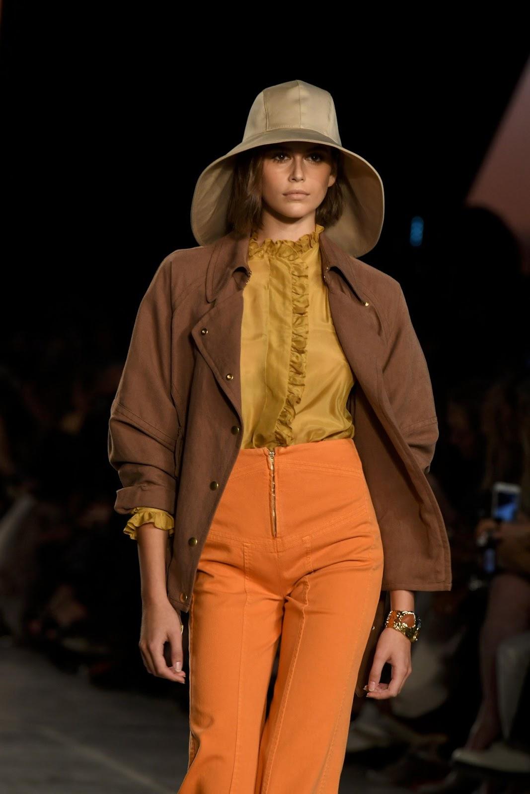 Kaia Gerber - Alberta Ferretti Milan Fashion Week Show