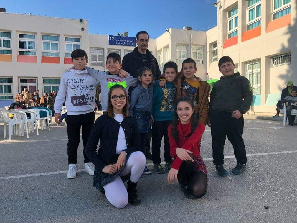 Το Δημοτικό σχολείο Αρναίας  κατέκτησε την 11η κ την 2η στο ομαδικό σκακιστικό σχολικό πρωτάθλημα