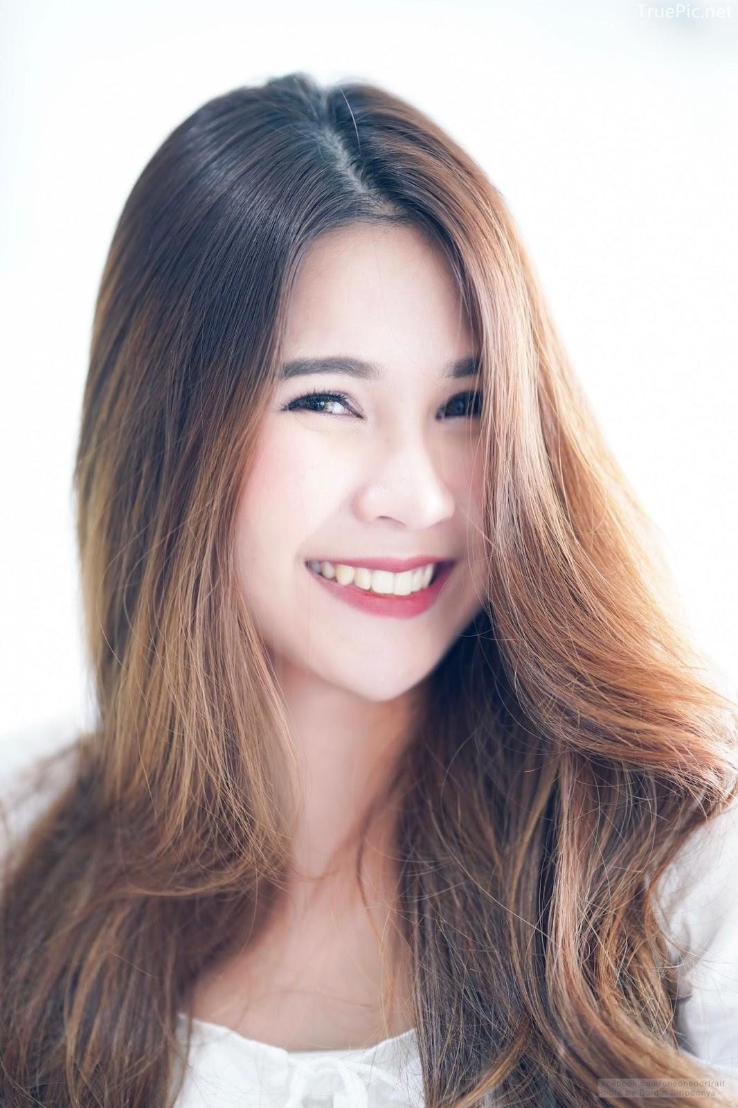 Thailand cute model Supansa Yoopradit (Lorpor) - Lovely smile girl - Picture 1