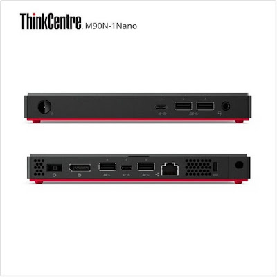 ThinkCentre M90n-1 Nano, PC Terkecil Lenovo