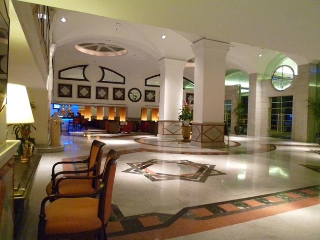 Elegancia en el hotel