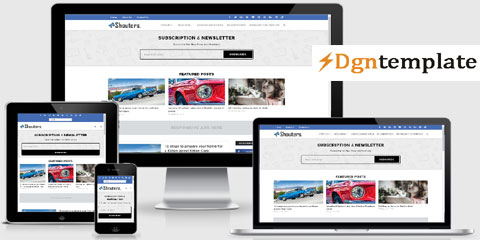 Shouters Responsive Blogger Template | high-quality themes