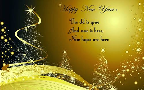 Send Happy New Year Greeting cards online