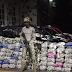 AJO POR UN TUBO!! VIDEO : Incautan 295 sacos de ajo en Montecristi