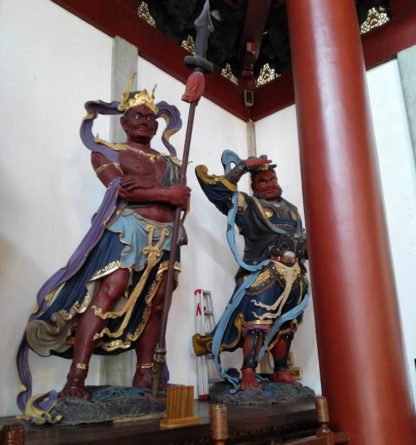 杭州市霊隠寺の仁王