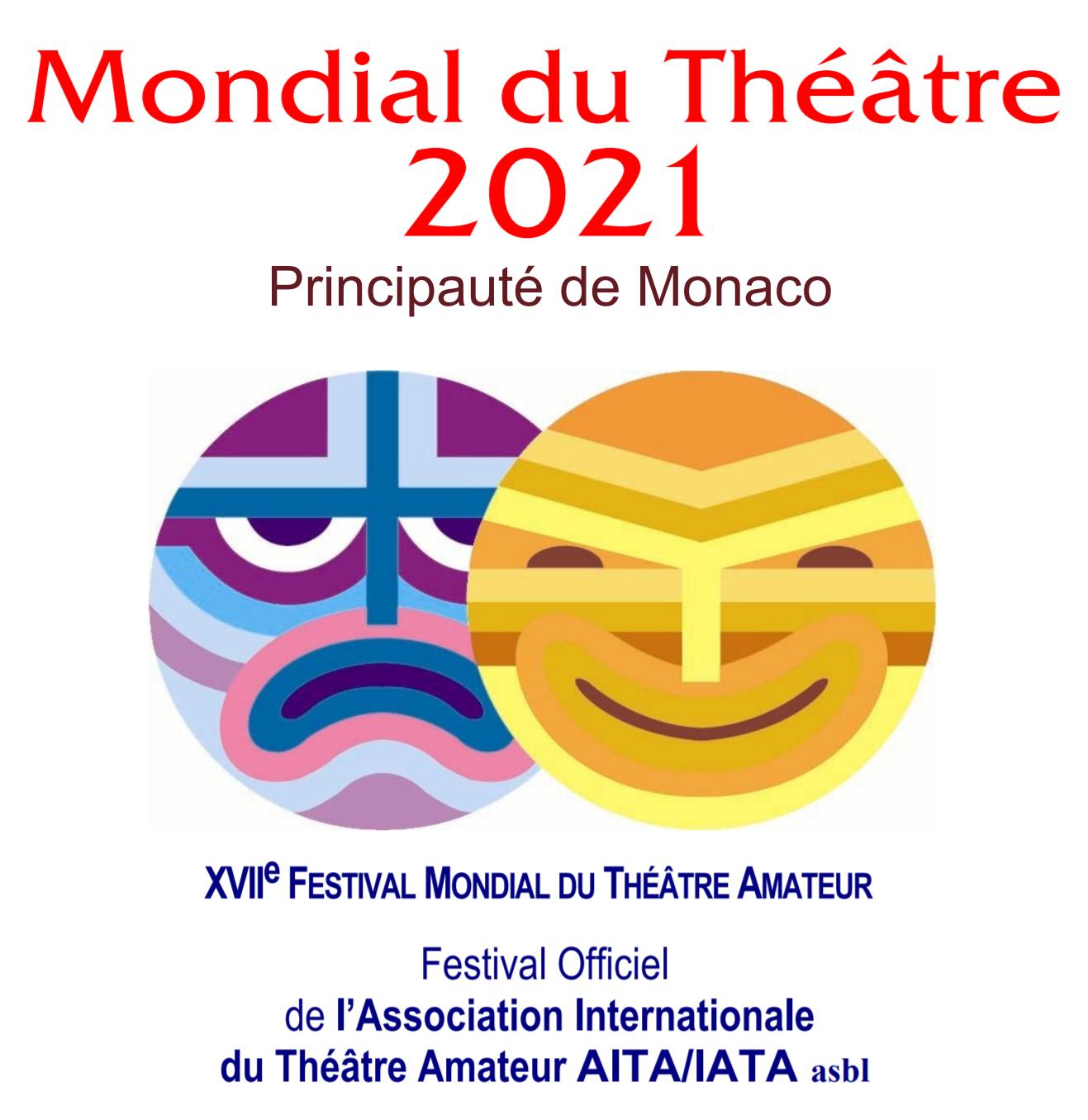 XVII Festival « Mondial du Théâtre » Amateur 2021, Monte Carlo, MÓNACO