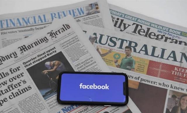 Facebook pagará a News Corp por contenidos de noticias en Australia